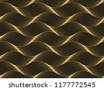 the geometric pattern with wavy ... | Shutterstock .eps vector #1177772545