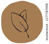 autumn leaf vector illustration ...   Shutterstock .eps vector #1177787098