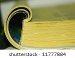 Small photo of A directory - a well-known yellow guide