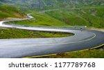 transalpina road  dn67c  is the ... | Shutterstock . vector #1177789768