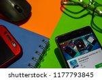 bekasi  west java  indonesia.... | Shutterstock . vector #1177793845