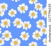 seamless floral pattern with... | Shutterstock .eps vector #1177796155