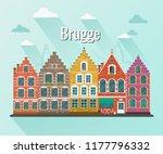 Vector Illustration Of Bruges....