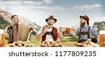 germany  bavaria. the happy... | Shutterstock . vector #1177809235