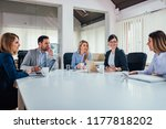 startup business people group... | Shutterstock . vector #1177818202