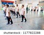 photo of thai teenage students... | Shutterstock . vector #1177822288