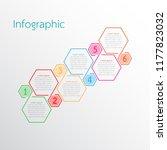 vector infographic templates... | Shutterstock .eps vector #1177823032