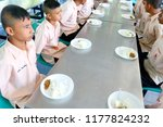 photo of thai students are arm... | Shutterstock . vector #1177824232