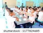 photo of thai teenage students... | Shutterstock . vector #1177824685
