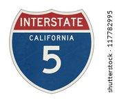 grunge american california... | Shutterstock . vector #117782995