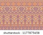 boho pattern tribal ethnic...   Shutterstock .eps vector #1177875658