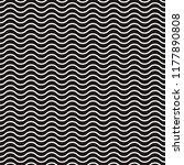 horizontal wavy lines seamless... | Shutterstock .eps vector #1177890808