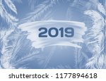 2019 new year background with... | Shutterstock .eps vector #1177894618