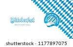 oktoberfest best beer in the...   Shutterstock .eps vector #1177897075