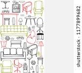 vector background with...   Shutterstock .eps vector #1177899682