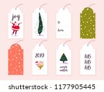 vector collection of christmas... | Shutterstock .eps vector #1177905445