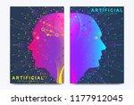 modern vector template for... | Shutterstock .eps vector #1177912045
