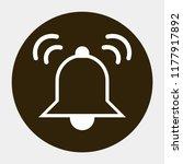 bell vector icon 10 eps | Shutterstock .eps vector #1177917892