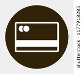 credit card vector icon 10 eps