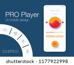 ui audio player templates... | Shutterstock .eps vector #1177922998