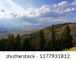 scenic landscape in the idaho...   Shutterstock . vector #1177931812
