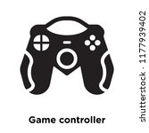 game controller icon vector... | Shutterstock .eps vector #1177939402
