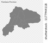 high quality map of vientiane... | Shutterstock .eps vector #1177944118