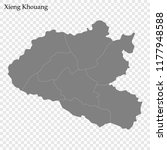 high quality map of xieng... | Shutterstock .eps vector #1177948588