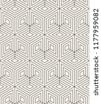 vector seamless pattern. modern ... | Shutterstock .eps vector #1177959082