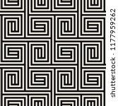 vector seamless pattern. modern ... | Shutterstock .eps vector #1177959262