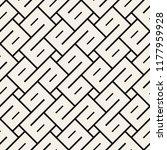 vector seamless pattern. modern ... | Shutterstock .eps vector #1177959928