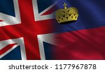 united kingdom and... | Shutterstock . vector #1177967878