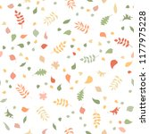 vector seamless pattern of...   Shutterstock .eps vector #1177975228