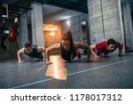 shot of two young men and a... | Shutterstock . vector #1178017312
