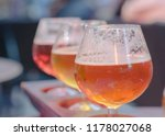 traditional belgian beer... | Shutterstock . vector #1178027068