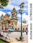guatemala city  guatemala   ... | Shutterstock . vector #1178031268