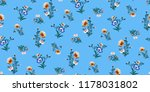seamless floral pattern in... | Shutterstock .eps vector #1178031802