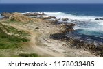 landscape of a beach  seaside ...   Shutterstock . vector #1178033485