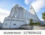 view of hallgrimskirkja church... | Shutterstock . vector #1178056132