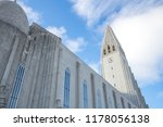 view of hallgrimskirkja church... | Shutterstock . vector #1178056138