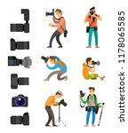 set of professional... | Shutterstock .eps vector #1178065585