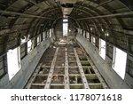 plane wreck on a public beach... | Shutterstock . vector #1178071618