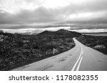 road in iceland. | Shutterstock . vector #1178082355