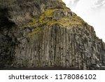 rock formations at reynisfjara... | Shutterstock . vector #1178086102
