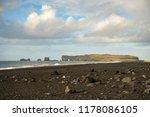 rock formations at reynisfjara... | Shutterstock . vector #1178086105