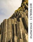 rock formations at reynisfjara... | Shutterstock . vector #1178086108