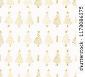 luxe gold foil festive... | Shutterstock .eps vector #1178086375