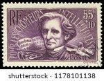 paris  france   1936  louis... | Shutterstock . vector #1178101138