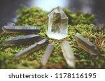 healing crystal grid kit ... | Shutterstock . vector #1178116195