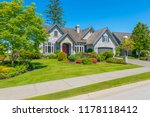 big custom made luxury house... | Shutterstock . vector #1178118412
